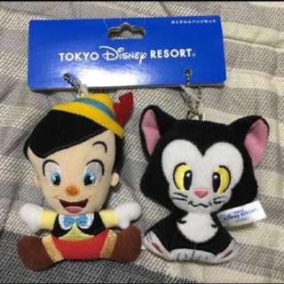 日本迪士尼小木偶奇遇記吊飾組