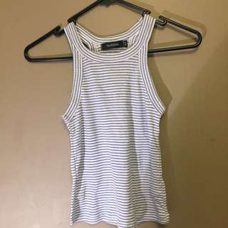 Glassons Stripes Crop Top