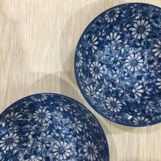 Porcelain Painted Bowls