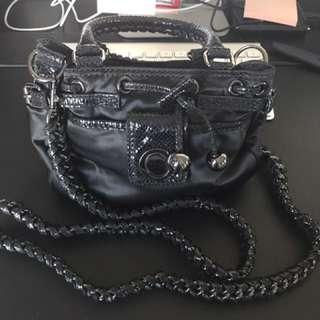Oroton Chain & Satin Bag