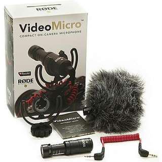 RodeVideoMicro Compact On-Camera Microphone