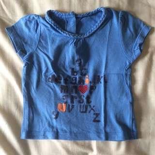 Mothercare Alphabet Shirt