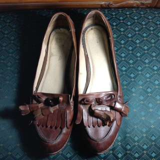 American brand Frye Boots leather loafers