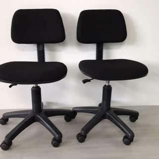Office Chairs - Selling One Pair ( Cushioned)