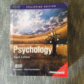 Psychology Book Ninth Edition