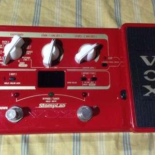 Vox Stomplab Bass Multi Effect..