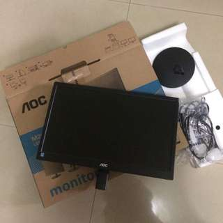 (Php850 Only!!!) AOC M2060SW LED 20 Class (49.6 cm) Monitor