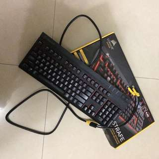 (Php5,000 Only!!!) Corsair Gaming Strafe Mechanical Keyboard Cherry MX Red