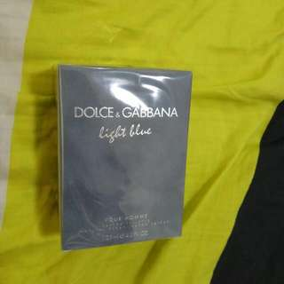 For swap/sale D&G Light Blue Perfume Authentic & Sealed