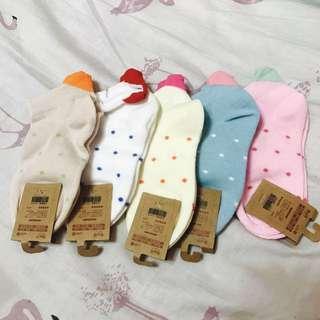 孩童可愛襪子組