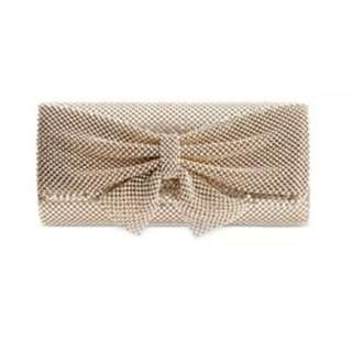Style and Co mesh clutch