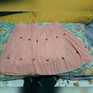 Soft pink skirt