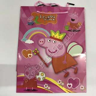 12pcs Peppa Pig Paper Bag