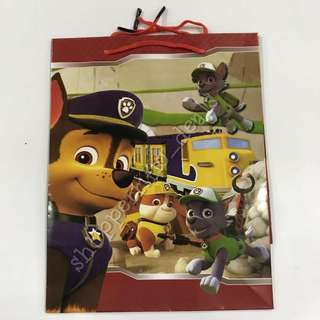 12pcs Paw Patrol Paper Bag