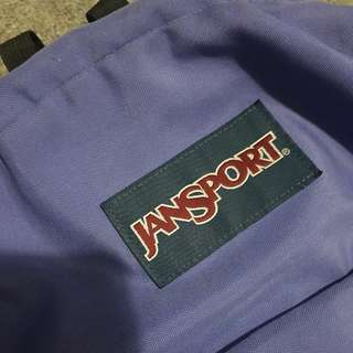 Jansport Authentic Purple Bag