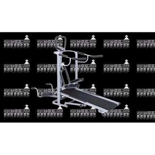Live up 4 in 1 Manual Treadmill
