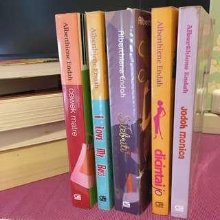 ALBERTHIENE ENDAH (5 books)