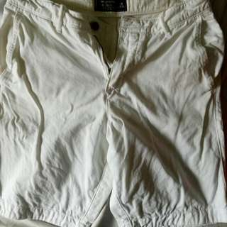 Original Abercrombie And Fitch Short (White)