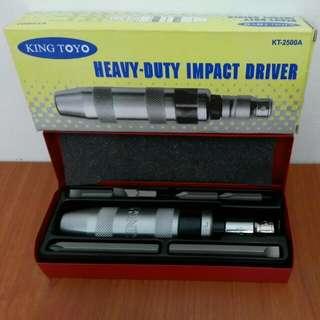 King Toyo Heavy Duty Impact Driver Tool Alatan Bengkel
