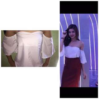 Inspired By Maine Off Shoulder Top