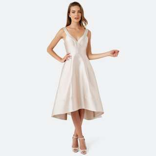 Forever New champagne formal dress Size 6