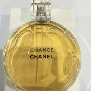 Chanel Chance EAU De Toilette Spray 150ml New Tester Unused Genuine