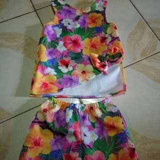 Terno Top + Shorts