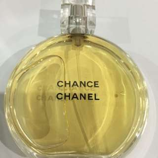 Chance By Chanel EAU De Toilette Spray 100ml New Tester No Box