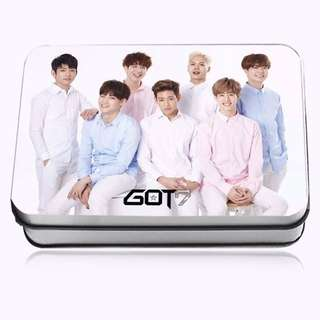 (Unofficial) *PREORDER* GOT7 It's Skin Endorsement Lomo Photocards