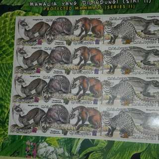 Collection Of Malaysia's UNUSED Stamps