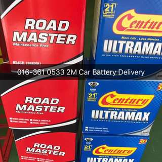 Century Car Battery Delivery Service