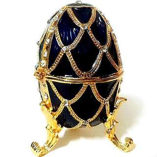Easter Egg Display Cum Trinket Jewelry Box