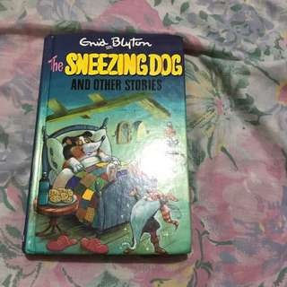 Grid Blyton : The Sneezing Dog And Other Stories