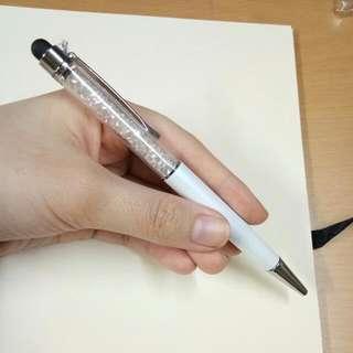 Crystal Stylus Pen (White)