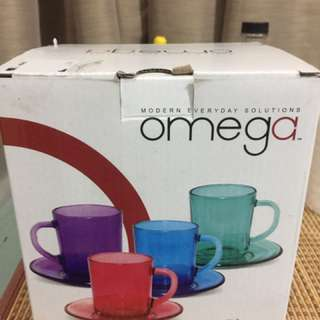IKEA 8pcs Cup and Saucer new!!!