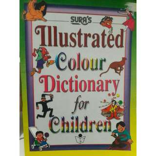 [KAMUS] Illustrated Colour Dictionary For Children
