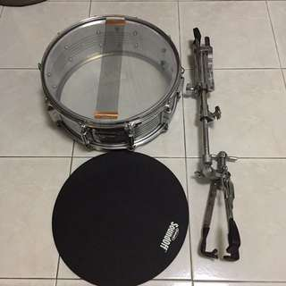 Snare Drum With Sound Off Pad