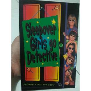 [NOVEL IMPOR] Sleepover Girls Go Detective
