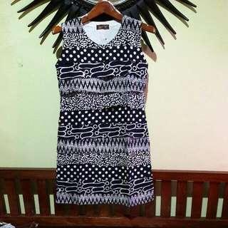 Dress Batik Layer Pekalongan Asli!