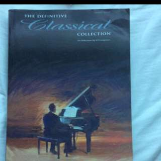 The Definitive Classical Collection (Piano)