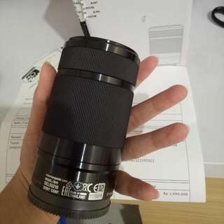 Lensa Sony E 55-210 Like New