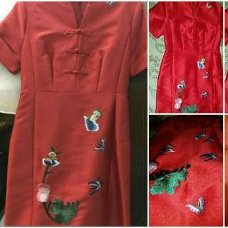 Dress Red / Chongsam