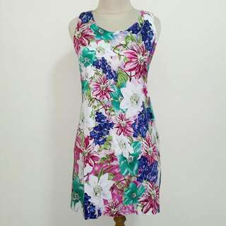 Preloved Flower Mini Dress