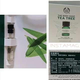🚚 ★The Body Shop美體小舖 茶樹精油1ml🔼滿235元免運🔽