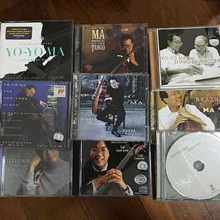 Yoyo Ma Cello CDs