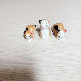 限時免運)全新9款陶瓷貓咪筷子架