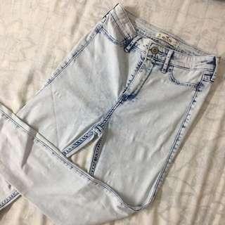 Hollister Acid Wash High Waist Pants