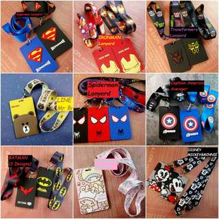 [Pre-Order] ❤Cute and Cool Lanyards + Card Holders❣