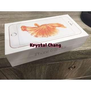 🚚 iPhone6s Plus 32g 空機 玫瑰金 可面交 全新 保固一年 iphone6splus空機 apple 蘋果 iPhone6splus空機