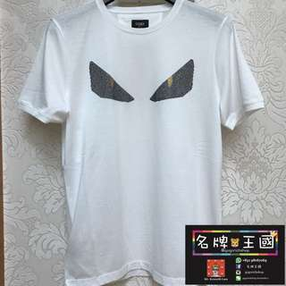 [全新] FENDI Monster Cotton Tee [HOT ITEM]